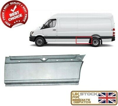 Reflectors Right Left 2006-2017 Vw Crafter Rear Bumper Corner Panel Set