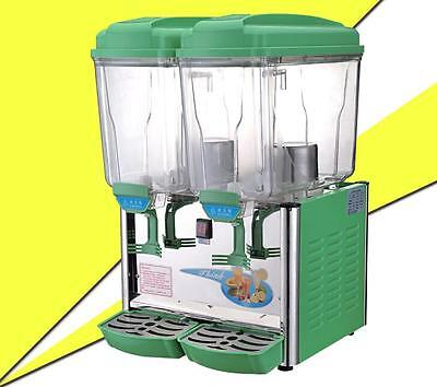 30l Double Cylinder Cold And Hot Drink Machine Juice Beverage Dispenser S