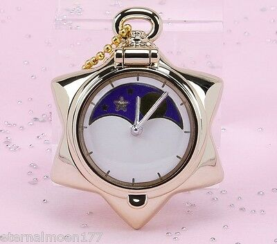Sailor Moon Miniaturely Tablet 4 Compact Key Chain - Pocket watch