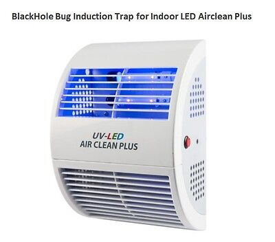 BlackHole Flying Bug INDUCTION TRAP LED Airclean Plus Patented Indoor bug captur