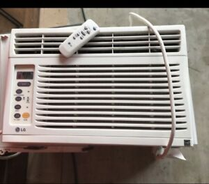 Window AC with remote