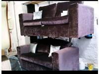 Crushed Velvet Suite BRAND NEW