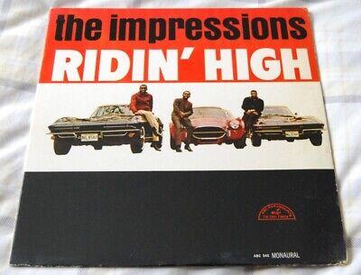 The Impressions - Ridin' High - USA Original MONO Vinyl - Curtis Mayfield