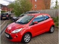 For sale Ford ka 1.2 Edge petrol 3dr Manual red 2014 63 reg
