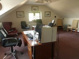 Luxury Office Space in Country Farm Setting with Storage £300pw Incl all Rates Bills etc
