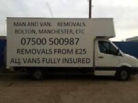Bolton. Home Removals. Man And Van. Removal Service. Cheap. Reliable. man and a van. man with a van.