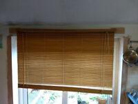 Ikea wooden venetian blind 140x115cm