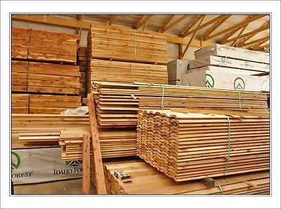 2x8 Ship Lap Western Cedar Log Siding Cabin Grade- WE SHIP FREE SAMPLES