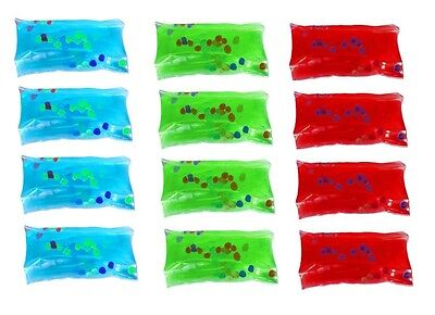 (12) Mini Water Wigglers Fidget Sensory Play Special Need Autism Party Favors - Water Wiggler Toy
