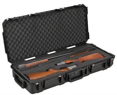 Skb Double Custom Breakdown Shotgun Case. 3i-3614-cb-d & 2 Tsa Locks