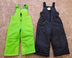 2 Pairs of 2T Snowpants