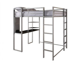 Bunk Bed with Workspace