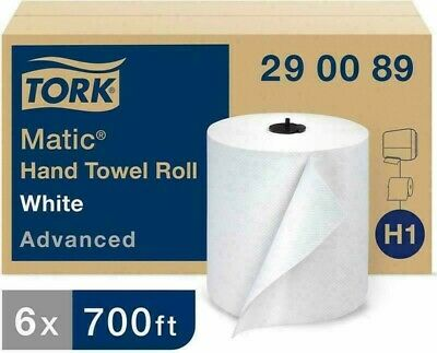 Tork Matic Advanced Paper Towel Roll H1 Paper Hand Towel 290089 100 Recycled