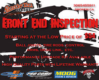 Front End Inspections