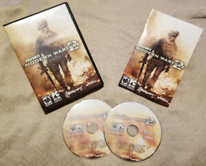 CALL OF DUTY MODERN WARFARE 2 FOR PC UP FOR SALE OR TRADE !!!!