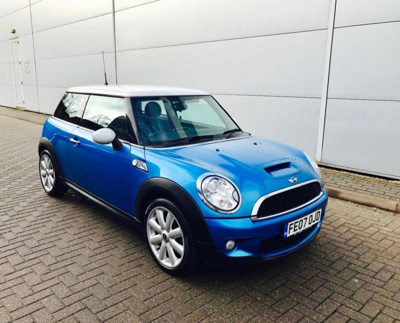 2007 07 Reg Mini 1 6 Cooper S Facelift Model Nice Spec