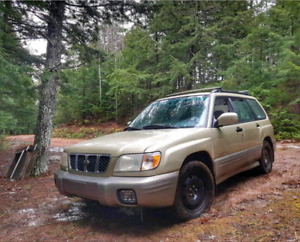 Lifted 2001 Subaru Forester S