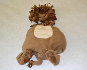 Halloween Lion costume, 0 - 6 months