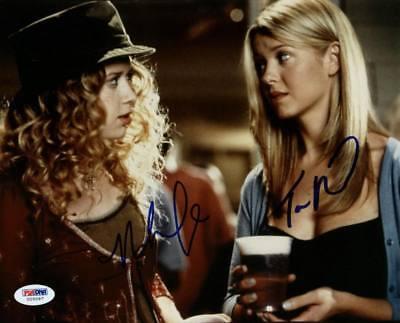 Tara Reid   Natasha Lyonne American Pie Signed Authentic 8X10 Photo Psa  U25097