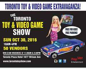 Toy, Action Figure, Comic Books, Barbie & Video Games Show