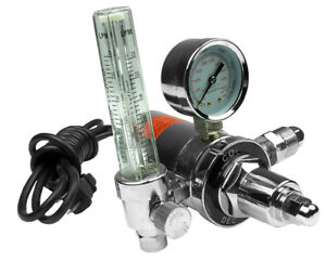 Hot Max 250WFG Heated Gas Regulator and Flow Gauge - For Welder