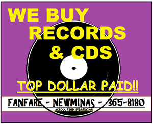 Records , lps , vinyl, cds @ Fanfare New Minas