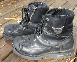 "Harley ""Stealth"" boots, size 9"