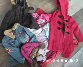 Girls 3-4 years clothes bundle 55 items. (Bundle 2)