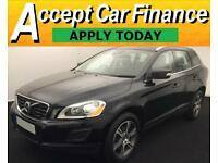 Volvo XC60 2.0D D3 ( 163bhp ) ( s/s ) 2012MY DRIVe FROM £72 PER WEEK !