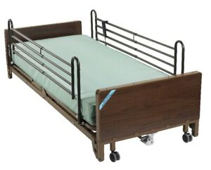 New & Used - Fully Electrical Hospital Bed With Mattress & Rails
