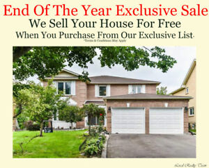 Ajax Fully Upgraded Ravine House 4+2 Bedrooms 5 WR 2 Kitchens