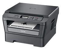 Imprimante Brother 3 dans 1 laser monochrome