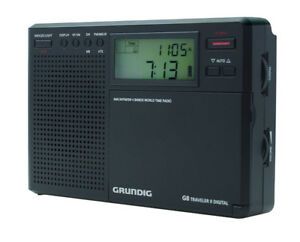 Grundig Eton Digital G8 Radio (Compact 4 Band World Time Radio)