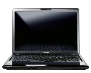 Toshiba Satellite Laptop  l550
