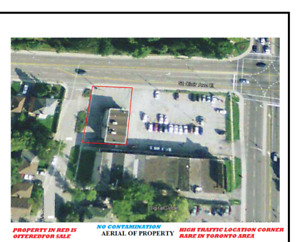 GAS STATION & VARIETY STORE FOR SALE TORONTO WITH RIGHT OF WAY >