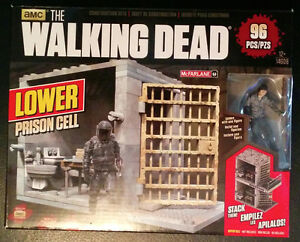 The Walking Dead Building Set - Lower Prison Cell Play Set London Ontario image 1