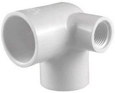 Charlotte Pipe Schedule 40 3/4 in Slip x 3/4 in Dia. Slip PVC Side Outlet Elbow
