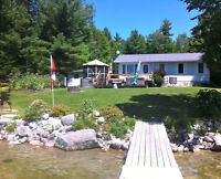 Spectacular waterfront at year round  home on Mink Lake.