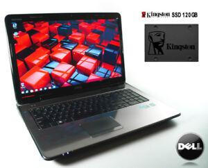 17.3'' Dell Inspiron N7010 / Intel i3 2.4GHz / SSD 120GB