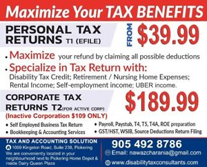 WHY PAY MORE THAN $180 FOR ACTIVE CORPORATE TAX RETURN T2 FILING