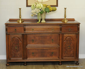 Antique Victorian Buffet Sideboard
