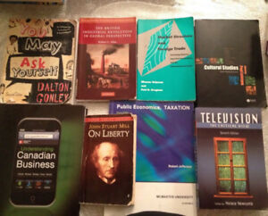 McMaster University Textbooks (Spring Cleaning)