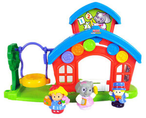 École Animalville Little People Fisher-Price