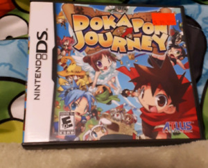 (Extremely RARE) DS Game Dokapon Journey