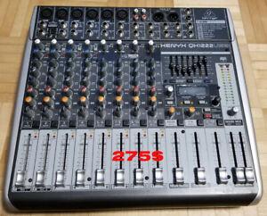 Stock de musique (speaker Yorkville + patte + console USB + +)