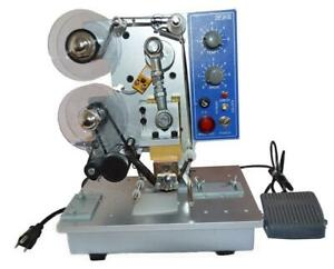 110V Color Ribbon Code Machine for Labeling Date Auto 160650