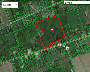 42 Acres of Untouched Vacant Land with Lake Ont. views