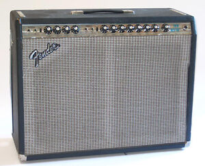 70's Fender Twin Reverb - Silverface