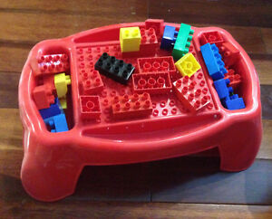 Duplo table and blocks