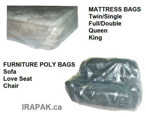 Mattress Bags and Furniture Poly Bags/Protectors